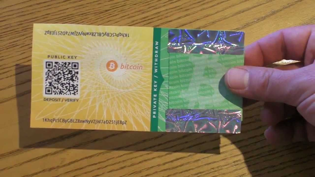 Бумажный биткоин кошелек: для чего и для кого
