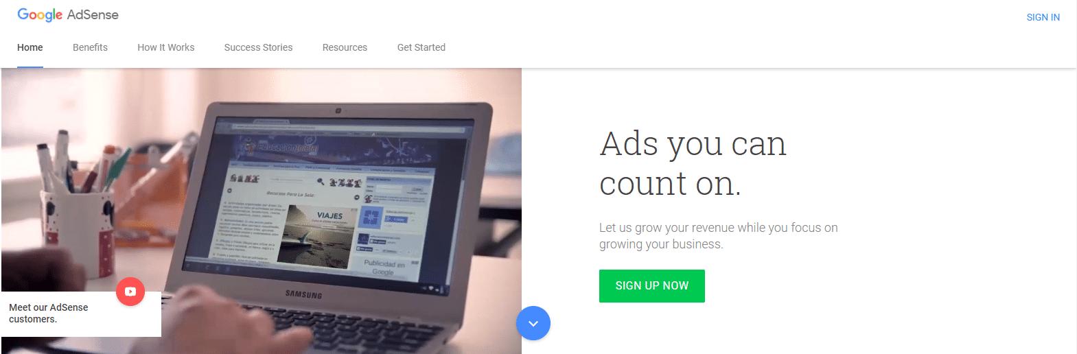 ак заработать на google adsense