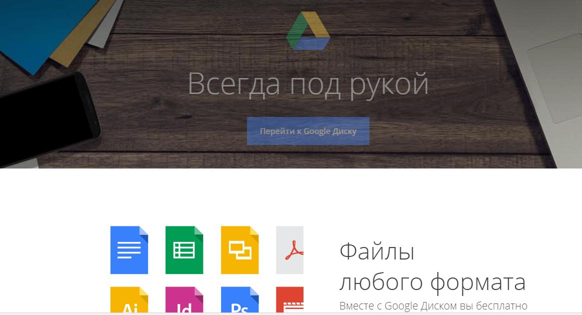 удаленная команда googleDrive