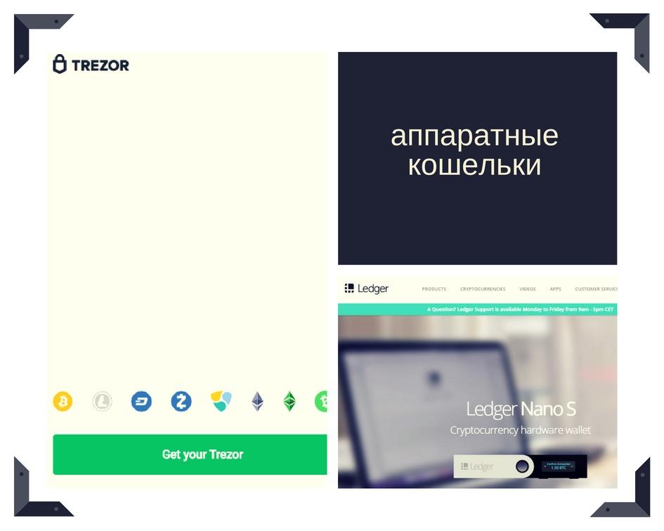 популярные_криптокошельки