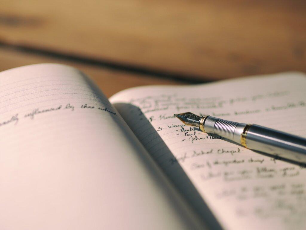 винтажная ручка