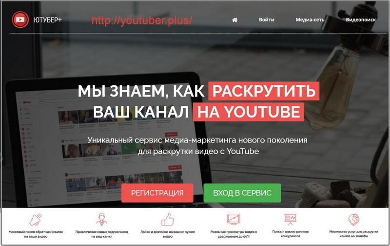 сервисы раскрутки канала на youtube
