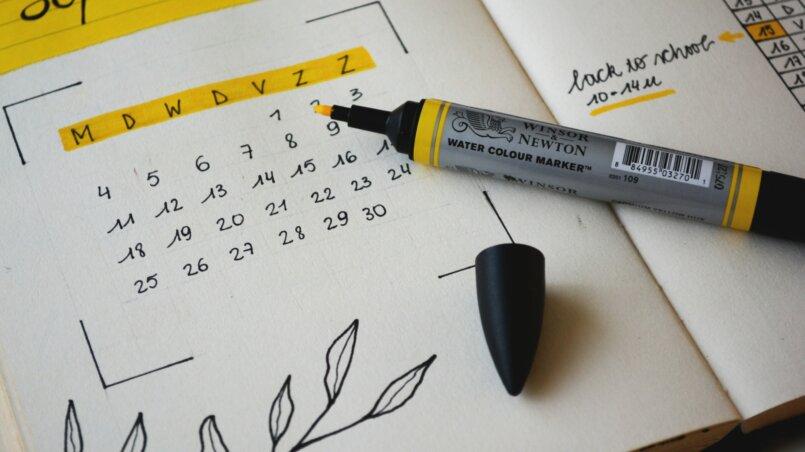 составить распорядок дня